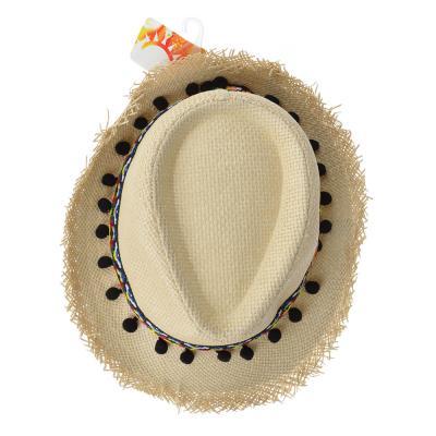 314-473 Шляпа молодежная, 35% хлопок, 65% полиэстер, р-р 56-58, 2 дизайна, ШЛ19-26