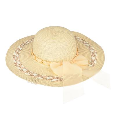 314-486 Шляпа женская, 100% целлюлоза, р-р 58, 2 дизайна, 4 цвета, ШЛ19-39