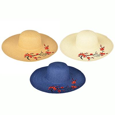 314-487 Шляпа женская, 100% целлюлоза, р-р 58, 3 цвета, ШЛ19-40