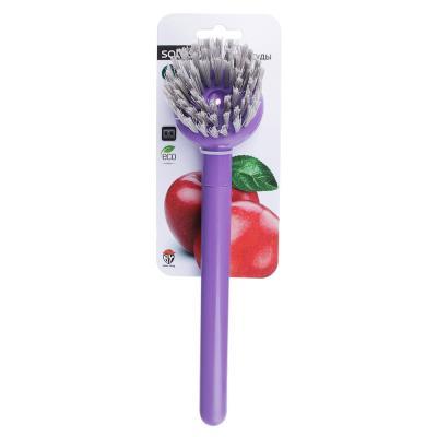 """884-446 Щетка для посуды с ручкой, SATOSHI """"Малибу"""""""