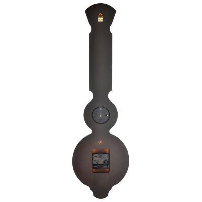 581-762 Барометр-часы настенные, электронно-механические кварцевые, дерево, АА/1,5 В, 67х20 см, СЧК-289