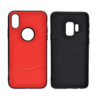 325-226 Чехол для смартфона ТПУ+ПУ, 3 модели, 2 цвета, МС19-1