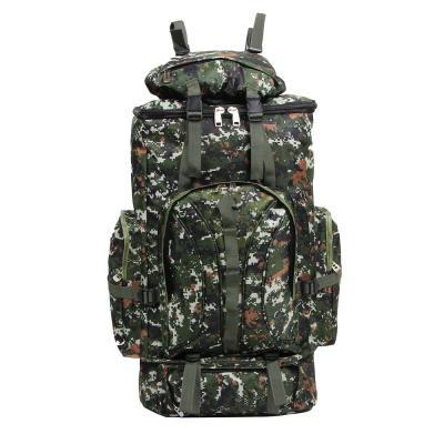 118-104 ЧИНГИСХАН Рюкзак туристический, отделение для палатки, 65 литров,80х35х18 см, полиэстер