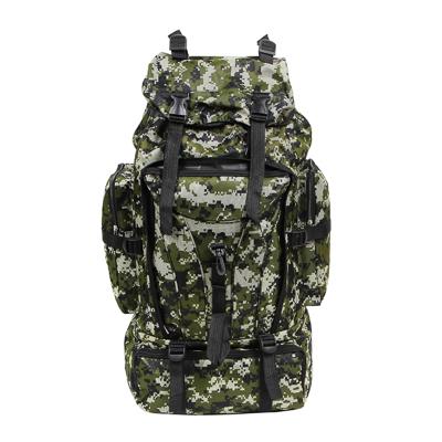 118-105 Рюкзак туристический ЧИНГИСХАН отделение для палатки, 60 литров,70х35х18 см, полиэстер