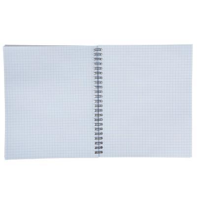 578-007 Тетрадь на спирали ERICH KRAUSE 80 листов в клетку, 4 дизайна