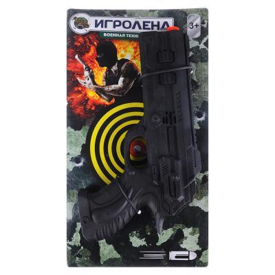 261-676 ИГРОЛЕНД Пистолет-трещетка, пластик, 29х15х4см