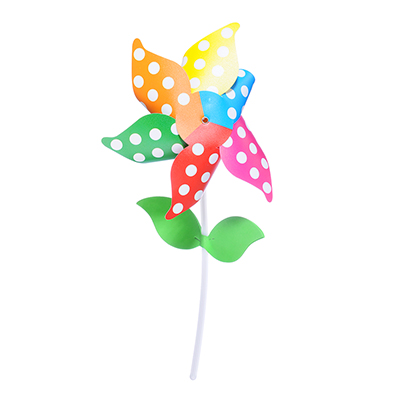 900-004 Ветрячок детский, пластик, высота палочки 29 см, 1 дизайн