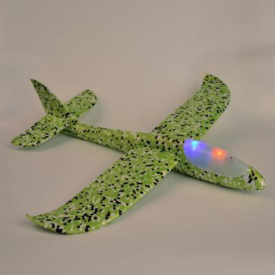900-008 Самолет-планер, свет, полимер, 48х10х48см, 5 цветов