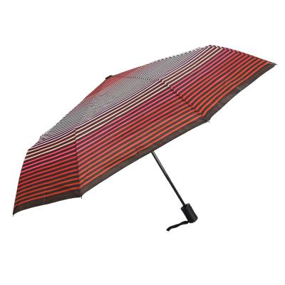 302-293 Зонт женский, полуавтомат, сплав, пластик, полиэстер, длина 55см, 8 спиц, 4 дизайна,3117
