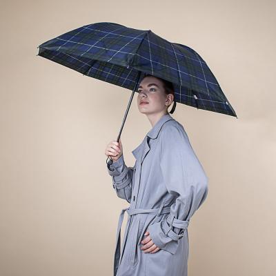 302-299 Зонт женский, механика, сплав, пластик, полиэстер, длина 55см, 8 спиц, 6 цветов,302