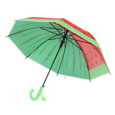 302-309 Зонт-трость для мальчиков, сплав, пластик, ПВХ, полиэстер, длина 50см, 8 спиц, 4 дизайна,0051
