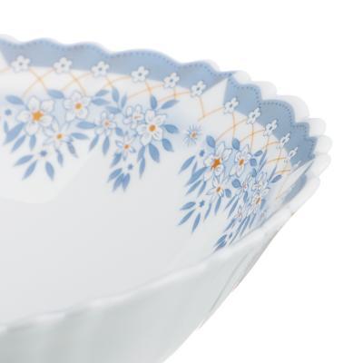 """818-312 Салатник d. 19 см, опаловое стекло, MILLIMI """"Аполлон 2"""""""