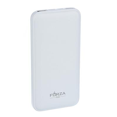 916-166 FORZA Аккумулятор мобильный Стандарт, 10000мАч, 2 USB, Type-C порт, 2A, Белый