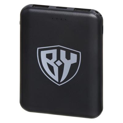 916-167 FORZA Аккумулятор мобильный Мини, 5000мАч, 2 USB, 2A, Белый