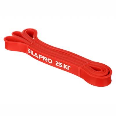 093-003 SILAPRO Силовая эластичная лента для фитнеса 208х0,45х2,2см, латекс, 25 кг
