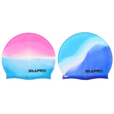 087-001 SILAPRO Шапочка для плавания, 18х22см, силикон