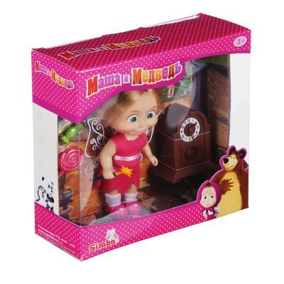267-793 МАША И МЕДВЕДЬ Кукла Маша, 12см, пластик, полиэстер