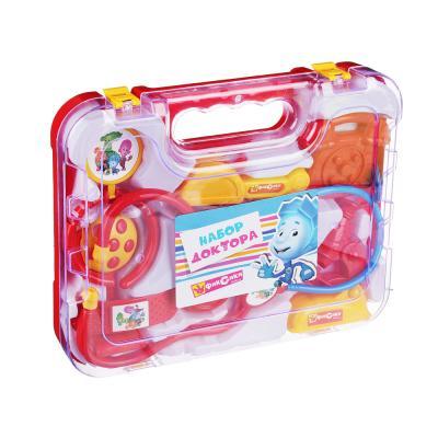 294-094 ФИКСИКИ Набор доктора в чемодане, 8 предм, пластик, 27х21х5см