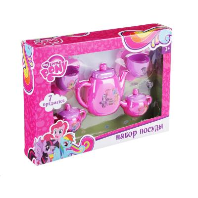294-096 MY LITTLE PONY Набор посуды для кукол, 5 предм., пластик, 30х23х8см