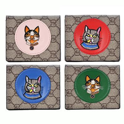303-831 PAVO Кошелек женский, ПУ, сплав, 10х8,5см, 3-4 цвета, КЖ19-5