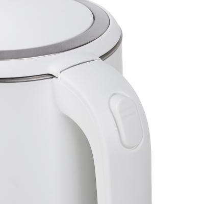 291-076 Чайник электрический LEBEN 1,8л, 2200Вт, скрытый нагр.элемент, двойное покрытие, белый