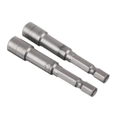 657-119 ЕРМАК Насадка магнитная для кровельных саморезов 6 мм, 2 шт(длинна 65) (Cr-V), сталь