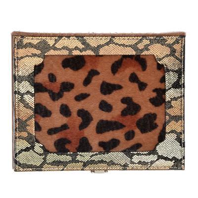 504-606 Шкатулка для украшений, МДФ, картон, полиэстер, 22х18х9 см, арт 124HY241