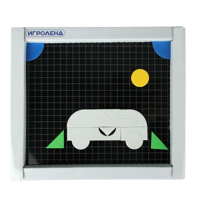 281-172 ИГРОЛЕНД Мозаика магнитная, ЭВА, магнит, коробка 30x26x4см