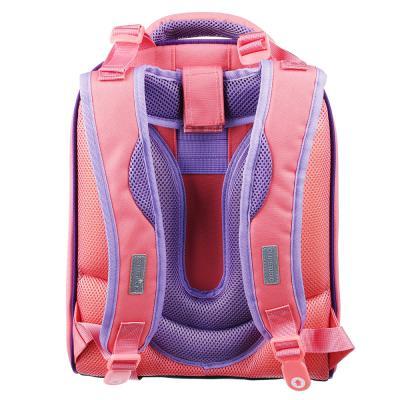254-166 Рюкзак школьный Клэвер кэтс 38x30x18 см, 2 отделение, эргономичная спинка, лямки регулируемые