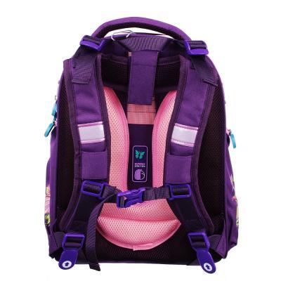 254-168 Рюкзак школьный Волшебный полет 38x30x18 см, 2 отделения, эргономичная спинка, лямки регулируемые