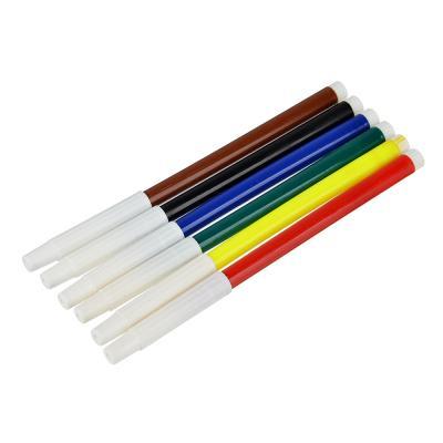 256-143 Фломастеры Волшебный полет с белым колпачком, 6 цветов