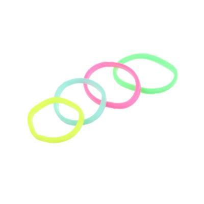 316-323 Набор резинок 95-100шт, d1,5см, силикон, 3 цвета