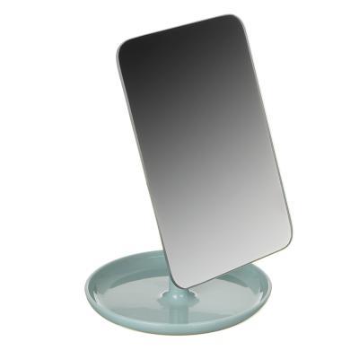 347-082 Зеркало настольное, 12,5х26,5см, пластик, стекло, 4 цвета, 1862