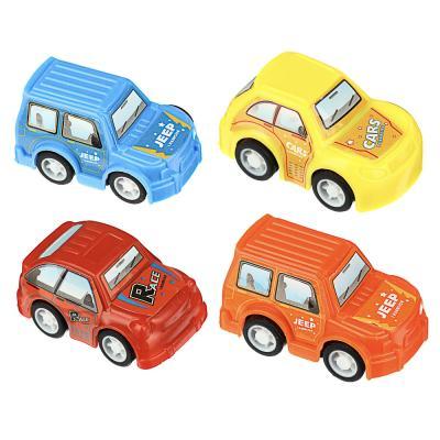 292-165 Мини-машинка инерционная, пластик, 5,2х2,7х3,3см, 4 дизайна