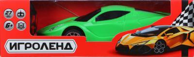 293-030 ИГРОЛЕНД Машина на радиоуправлении спортивная, 5АА, ABS, 24,5х11х10см