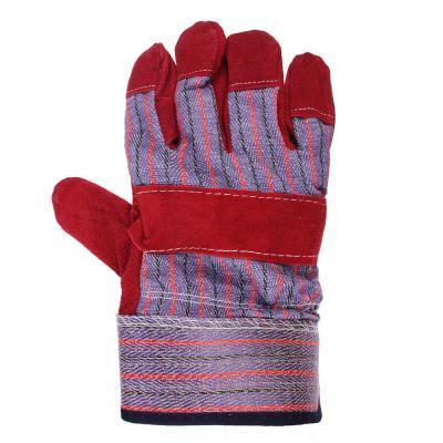 638-032 ЕРМАК Перчатки спилковые комбинированные, серия «Ангара»