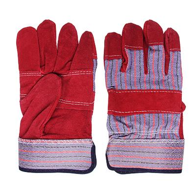 Перчатки спилковые комбинированные, серия «Ангара»