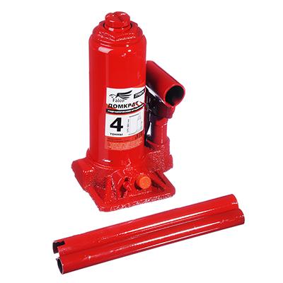 770-074 FALCO Домкрат гидравлический бутылочный 4 т, в кейсе высота подъема 195-380мм