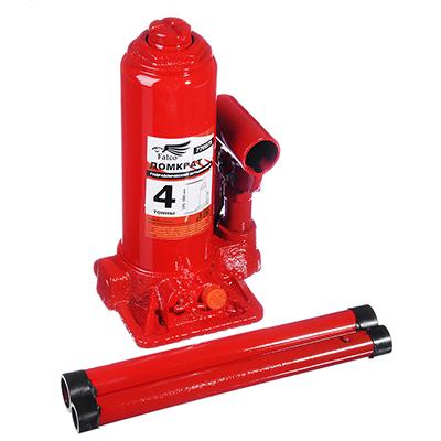 770-075 FALCO Домкрат гидравлический бутылочный 4 т, высота подъема 195-380мм