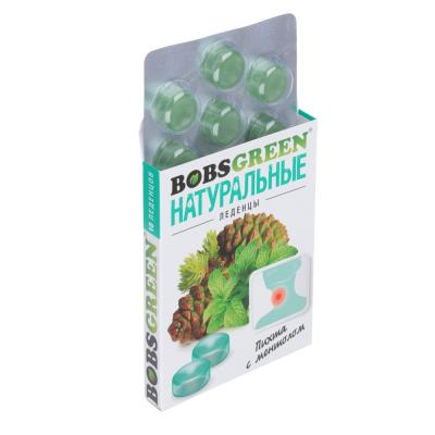 """015-088 БАД Леденцы """"BOBSGREEN"""" в ассортименте, 32г."""