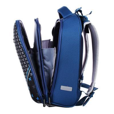 254-174 Рюкзак школьный Энджин 38x30x18 см, 2 отделения, эргономичная спинка, лямки регулируемые