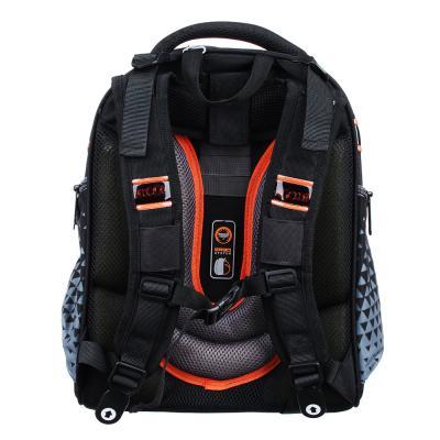 254-177 Рюкзак школьный Концепт кар 38x30x20 см, 2 отделения, эргономичная спинка, лямки регулируемые
