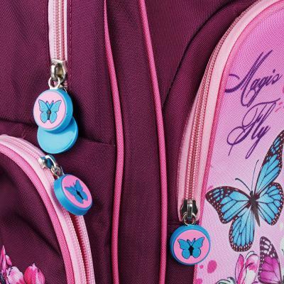 254-179 Рюкзак школьный Волшебный полет 38x28x12 см, 1 отделение, уплотненная спинка и лямки
