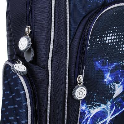 254-183 Рюкзак школьный Спидвей 38x28x12 см, 1 отделение, уплотненная спинка и лямки
