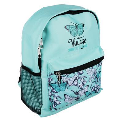 254-184 Рюкзак школьный Винтаж коллекшн 38x30x14 см, 1 отделение, уплотненные лямки