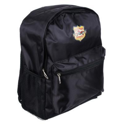 254-185 Рюкзак школьный Мотоциклы 38x30x14 см, 1 отделение, уплотненные лямки