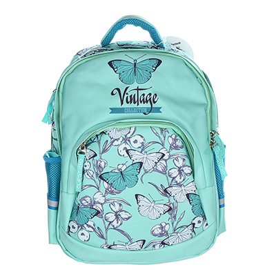 254-188 Рюкзак школьный  Винтаж коллекшн 41x31x18см, 2 отделение, 3 кармана, уплотненная спинка, лямки