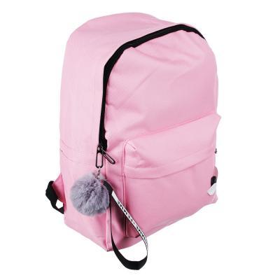 254-199 Рюкзак 40x30x20 см с брелком, 1 отделение, уплотненные лямки, сиреневый