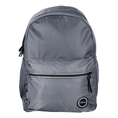 254-201 Рюкзак 40x28x16 см,1 отделение, уплотненные лямки, гладкий нейлон, серый