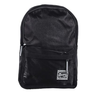254-204 Рюкзак 40x28x16 см,1 отделение, уплотненные лямки, сияющий нейлон, черный